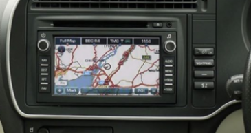 SAAB 93 Map DVD Delphi Grundig 2018 update